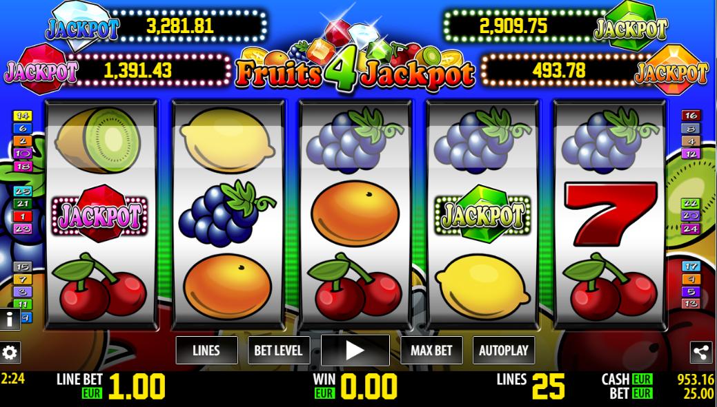 jackpot cherries spielautomat