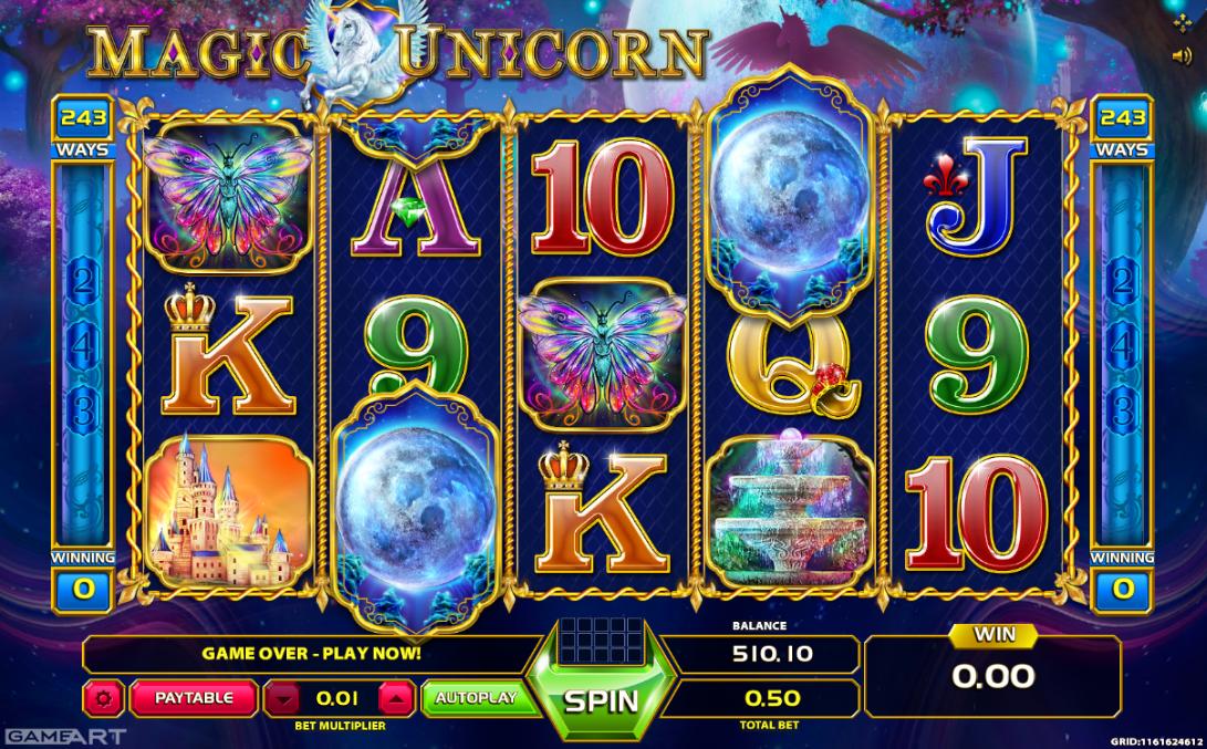 spielautomat magic unicorn kostenlos online - jetzt