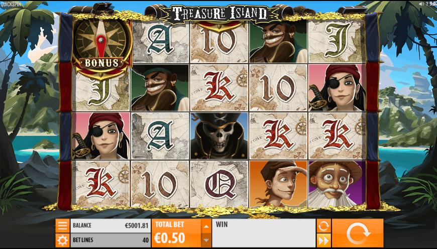 Treasure Island QuickSpin