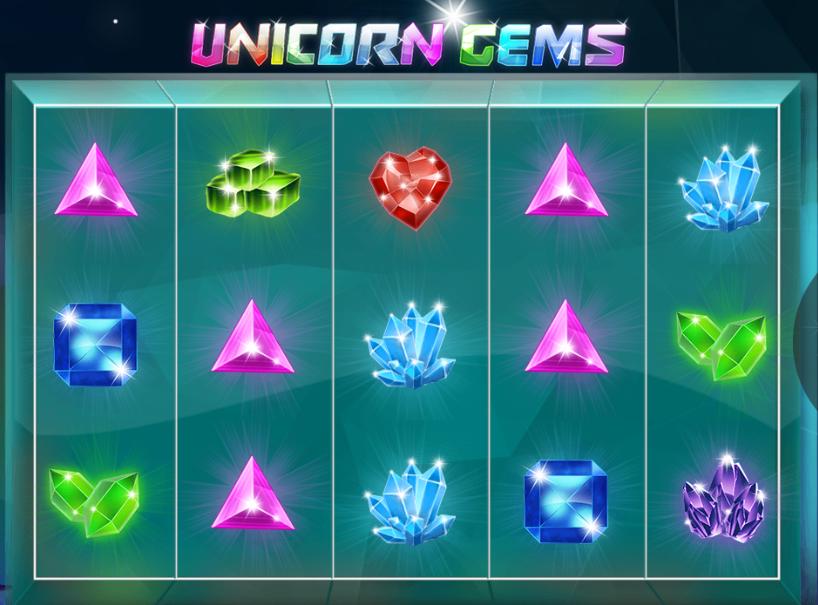 spielautomat unicorn gems kostenlos online  jetzt spielen